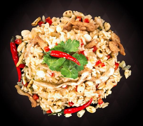 заказать: Wok Box - Рис по-Тайски с курицей