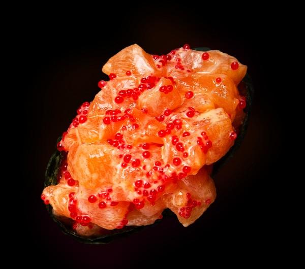 заказать: Суши - Спайси с лососем