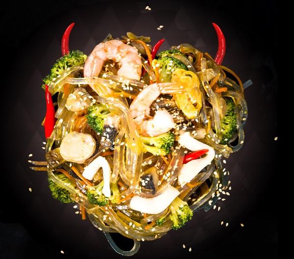 заказать: Вок - Харусаме с морепродуктами