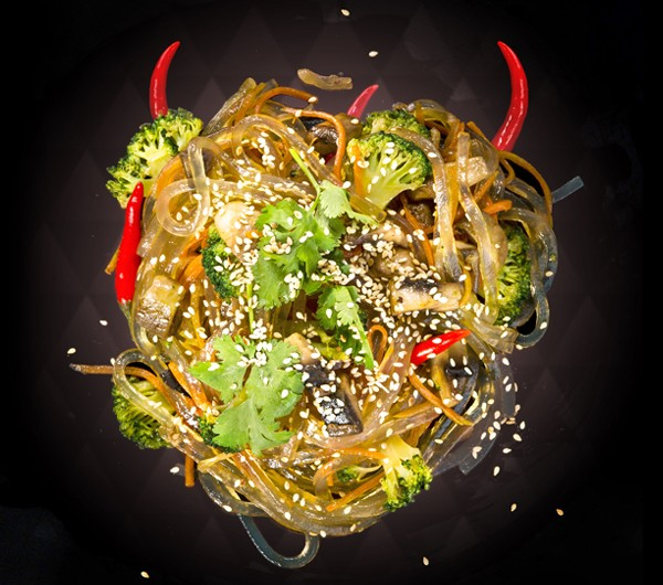 заказать: Wok Box - Харусаме с овощами