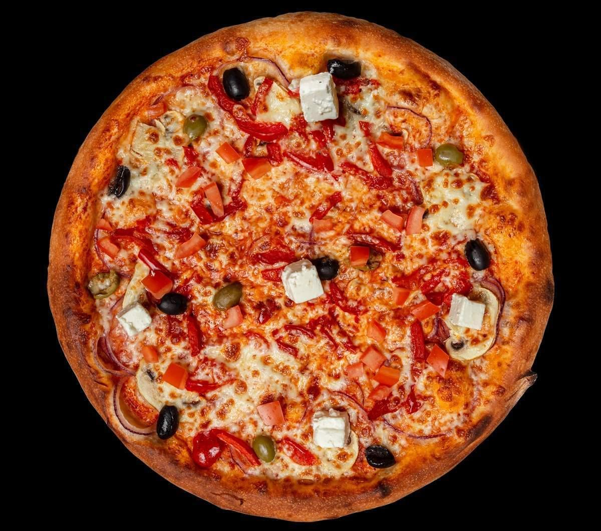 заказать: Пицца - Вегетарианская