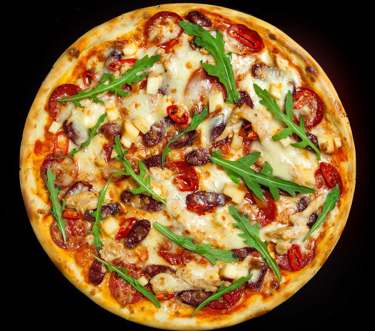 заказать: Пицца - Дьябло