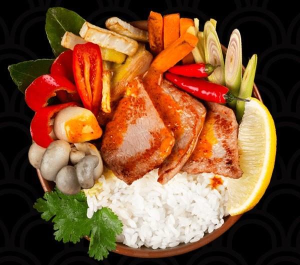 заказать: Wok Box - Карри-Масала с телятиной