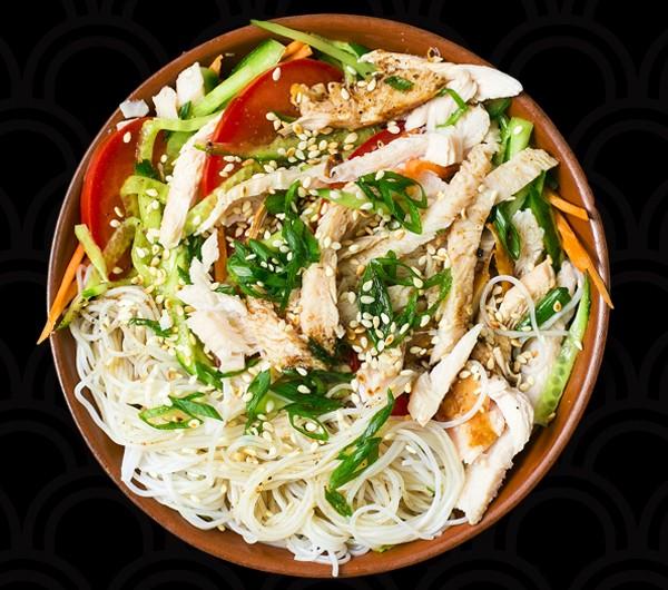 заказать: Салаты - Чикен Мунг Бин