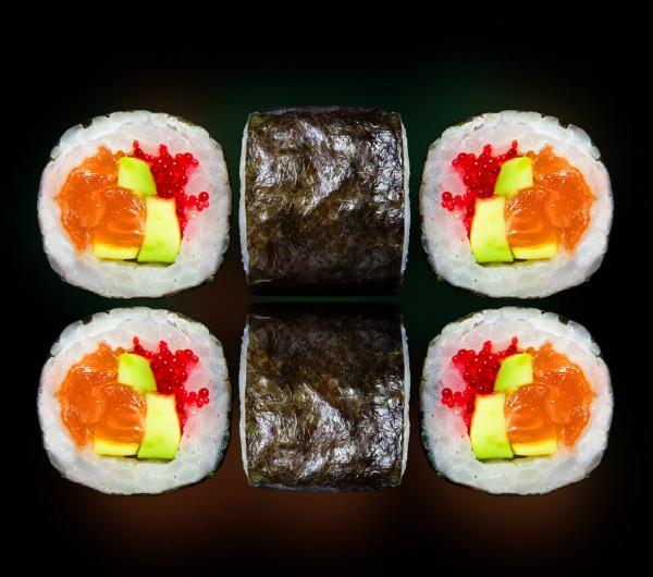 заказать: Роллы - С лососем и авокадо