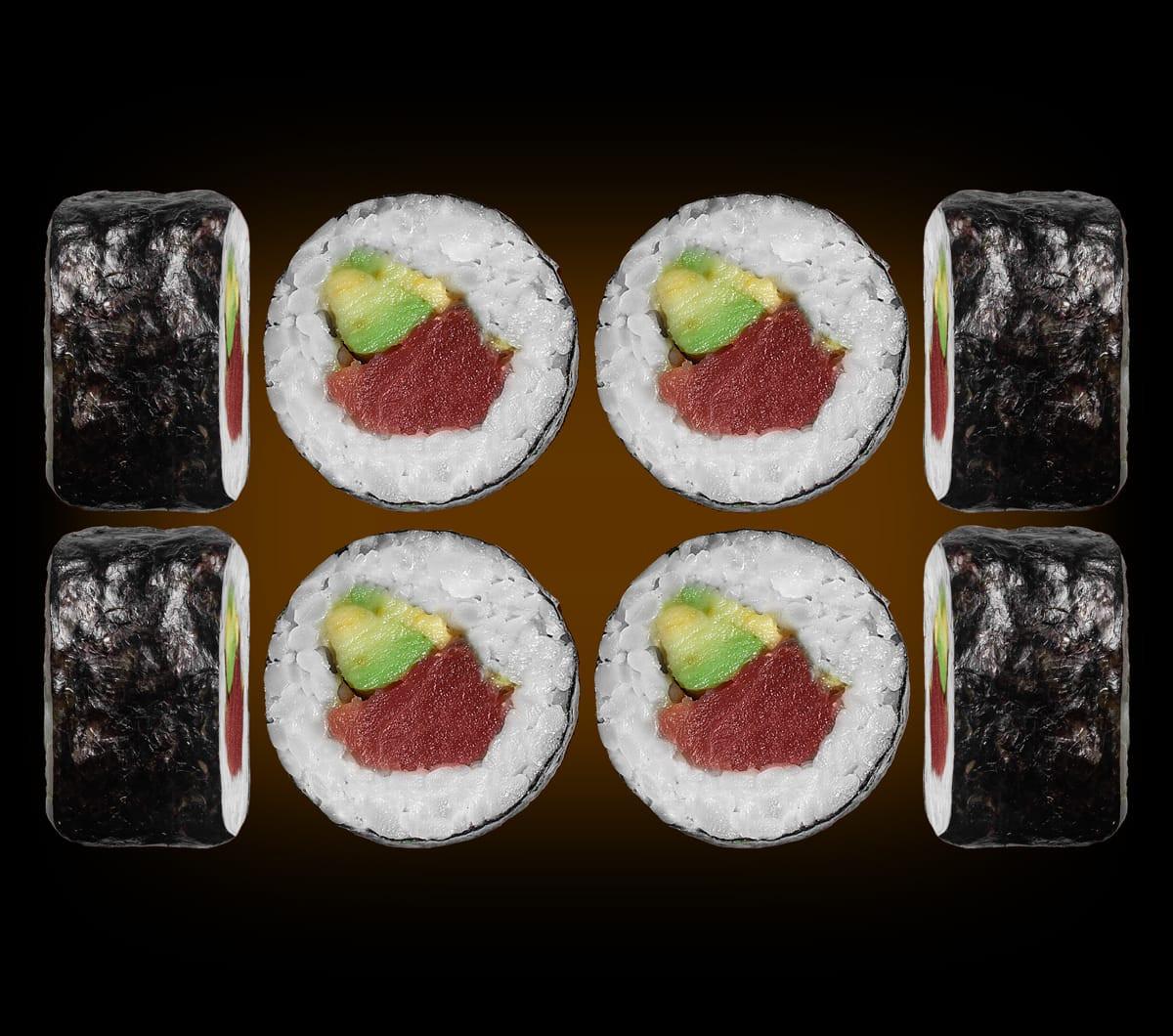 заказать: Роллы - Маки с тунцом и авокадо