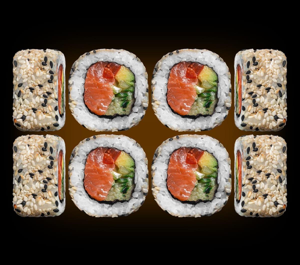 заказать: Роллы - Ролл с тартаром из лосося