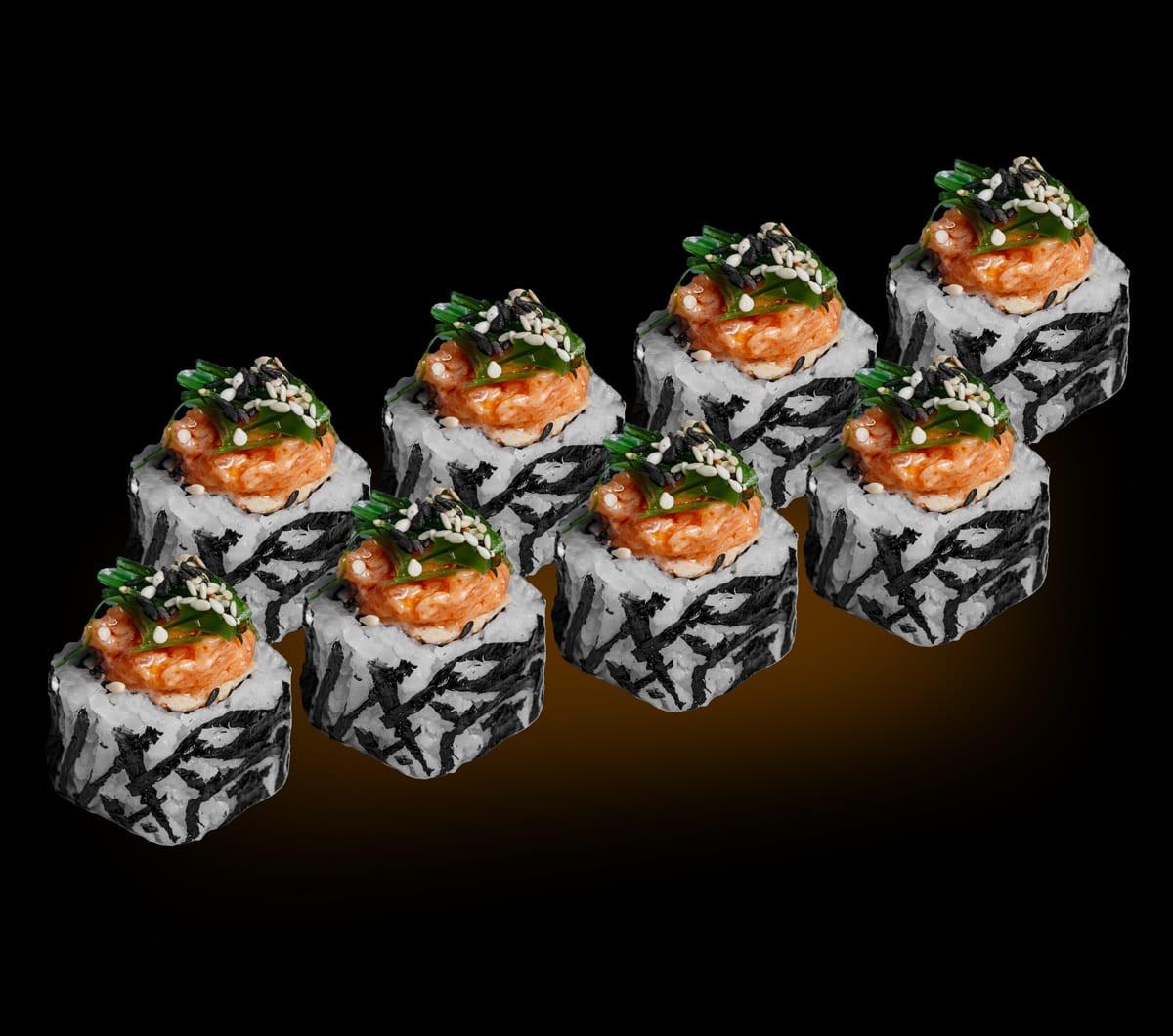 заказать:(uk) Ролли - Спайси рол з лососем