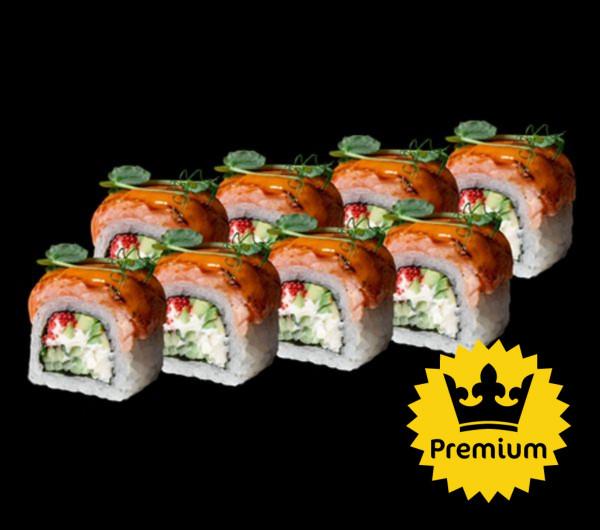 заказать: Роллы - Филадельфия Фаер с лососем и авокадо