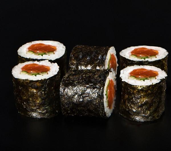 заказать: Роллы - Ролл с копченым лососем